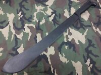 Cold Steel Bolo Machete Polypropylene Handle Carbon Hunting Knife With Sheath