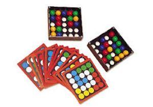 Spinosa DITA puzzle gioco con palle e schede pensiero intellettuale GIOCO