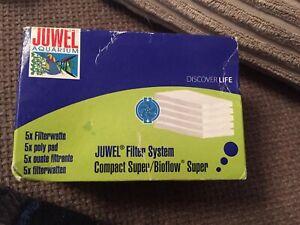 Juwel-Aquarium-Filter-Poly-Pads-Bio-Pads-Bioflow-Compact-Bioflow-Super-S-5pk