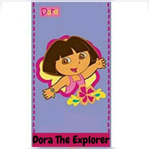 100/% Coton Personnage De Dessin animé Dora the Explorer Imprimé Serviette de plage 70 x 140 cm