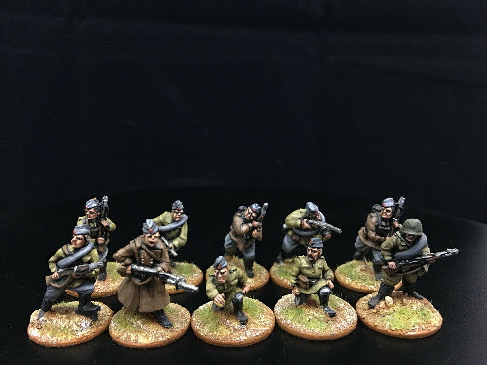 28mm DPS målad Bolt Action WW2 Sovjetiskt infanteri GH883