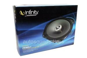 "New Pair Infinity PR8602cf 6""x 8"" 5""x 7"" 2-Way Speakers 180W 6"" x 8"" 5"" x 7"""
