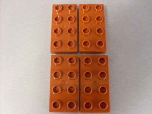 LEGO DUPLO SPARES SELECTION OF PLATES 40666 4 X 2