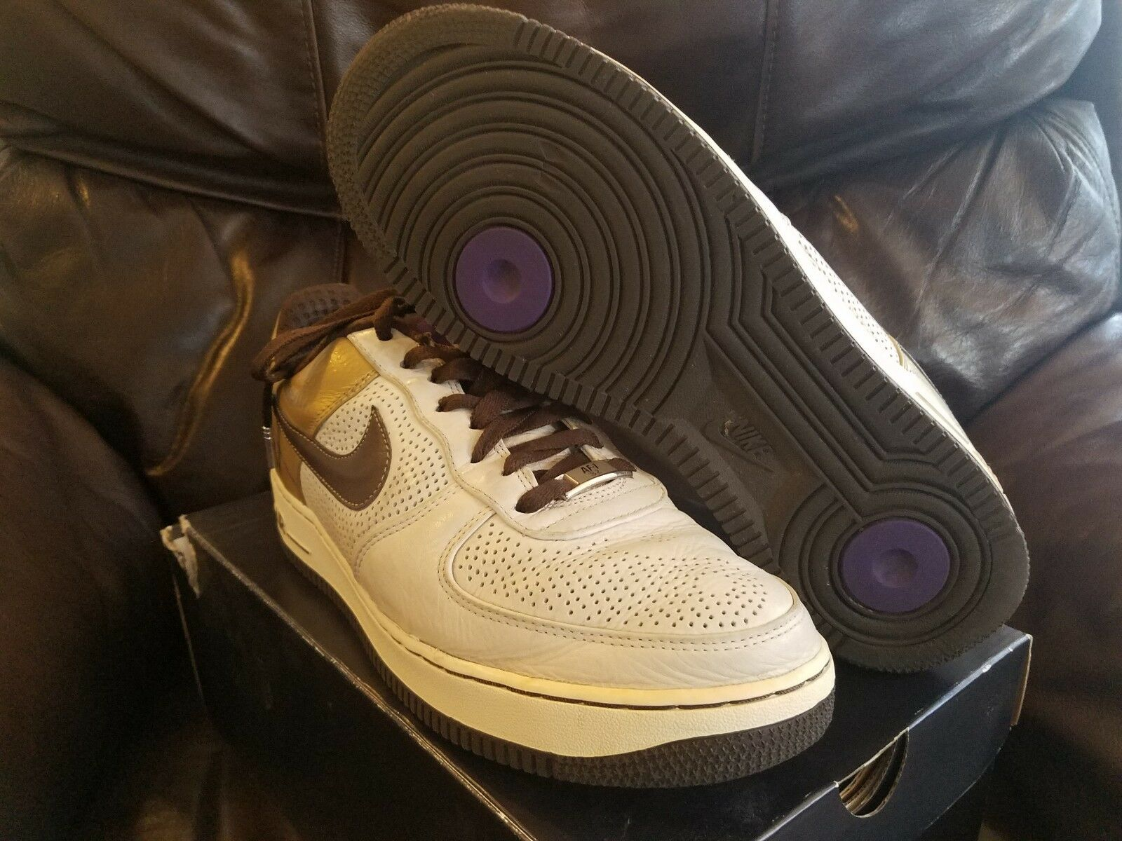 2007 Nike Air Force 1 One Premium '07 Michael Cooper Original 6 Six Yin Yang New shoes for men and women, limited time discount