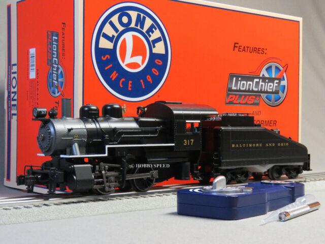 LIONEL B&O A5 LIONCHIEF PLUS STEAM LOCOMOTIVE 317 O GAUGE train 6-82975 NEW