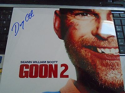 Halifax Highlanders Doug Glatt  Autographed  8x10 Doug Smith Real Goon 2  #4