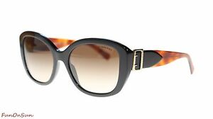 bfb44a2c8 Image is loading Burberry-Women-Sunglasses-Irregular-BE4248 -363713-Black-Brown-