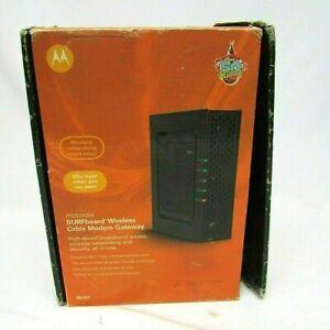 Motorola SBG6580 DOCSIS 3.0 Wireless Cable Modem Router Gateway Comcast SEALED