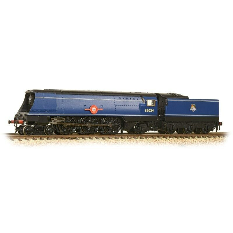372-310 N GAUGE FARISH MERCHANT NAVY 35024 BR EXPRESS blu HORNBY TTS DCC SOUND