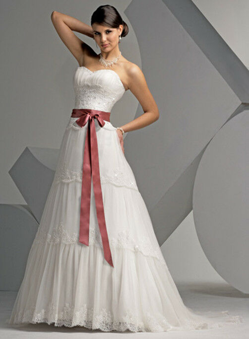 Infatigable Sur Mesure !sublime Robe De Mariée Nouv Collection M244 Vente Chaude 50-70% De RéDuction
