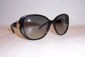 ce5881cc6ba15 NEW COACH SUNGLASSES HC 8014 5002 11 (L018 SABRINA) BLACK GRAY ...