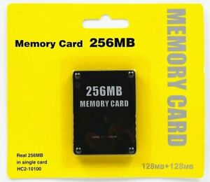 PS2-Memory-Card-256MB-For-Sony-PlayStation-2-Game-Saves-Pack-High-Speed-Storage
