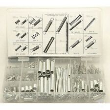 NEW - Steel Spring Assortment - 200-count in 20 Sizes/Styles with Clear Case