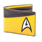 Ga217269 Star Trek Into Darkness Command Logo Bi-fold Wallet Yellow/dark Grey