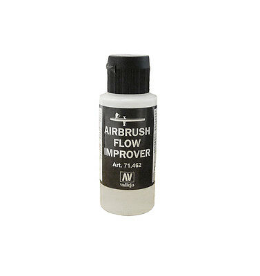 VALLEJO AIRBRUSH PAINT - MODEL AIR - AIRBRUSH FLOW IMPROVER 60ML - 71.462