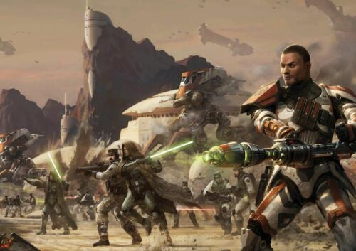 STAR WARS THE OLD REPUBLIC A3 POSTER PRINT YF1212