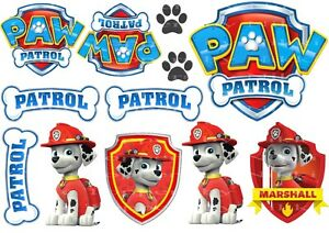 Edible-Paw-Patrol-Icing-Images-Mix-or-single-Dogs-or-Badges-Cake-Decorations
