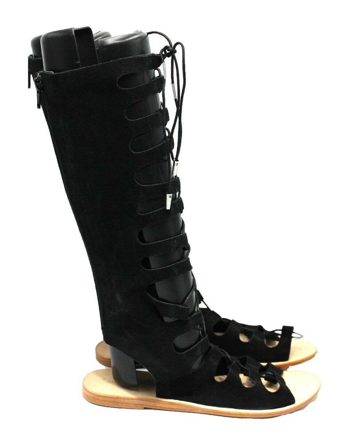 Instamhommest Arya Femme Gladiator Lace Up Sandal en noir-Taille 8.5 - Neuf Authentique