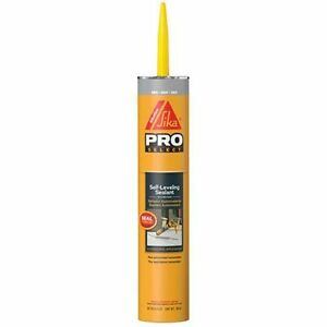 Sika Corporation 106711 Self Leveling Sealant, 29-Ounce, Gray