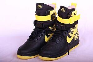 Nike SF Af1 Special Field Air Force 1 Black Dynamic Yellow Ar1955 001