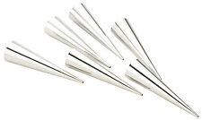 Piazza - Set 6 cannoli conici in latta Tin cream conical cornet moulds