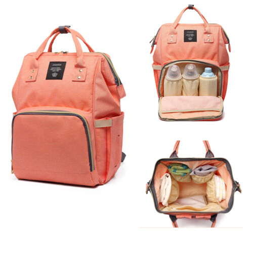 Diaper Backpack Baby Bags For Mom Multifunctional Diaper Nappy Bag Insulated Bag