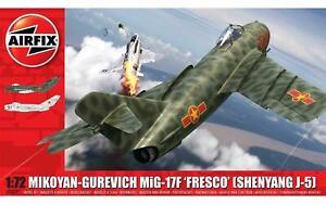 Airfix-A03091-Mikoyan-Gurevich-MiG-17F-039-Fresco-039-1-72-Scale-Model-Kit-New