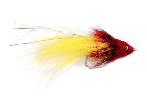 Tarpon Snook Redfish Tarpon Tantrum Red /& Yellow Saltwater Fly Fishing Flies