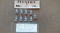 15mm Frontier Miniatures  War of 1812 American Artillery crews