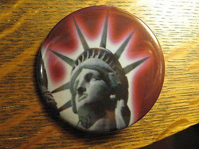 Statue of Liberty New York USA America Advertisement Pocket Lipstick Mirror