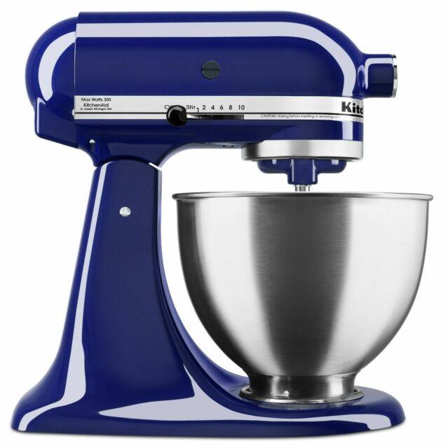 KitchenAid KSM88BU 4.5 Qt-Tilt Head Stand Mixer - Cobalt Blue