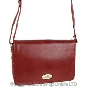 2c81a5ddc8bd NEW Ladies LEATHER Cross Body Bag Handbag by Rowallan  Razzano ...