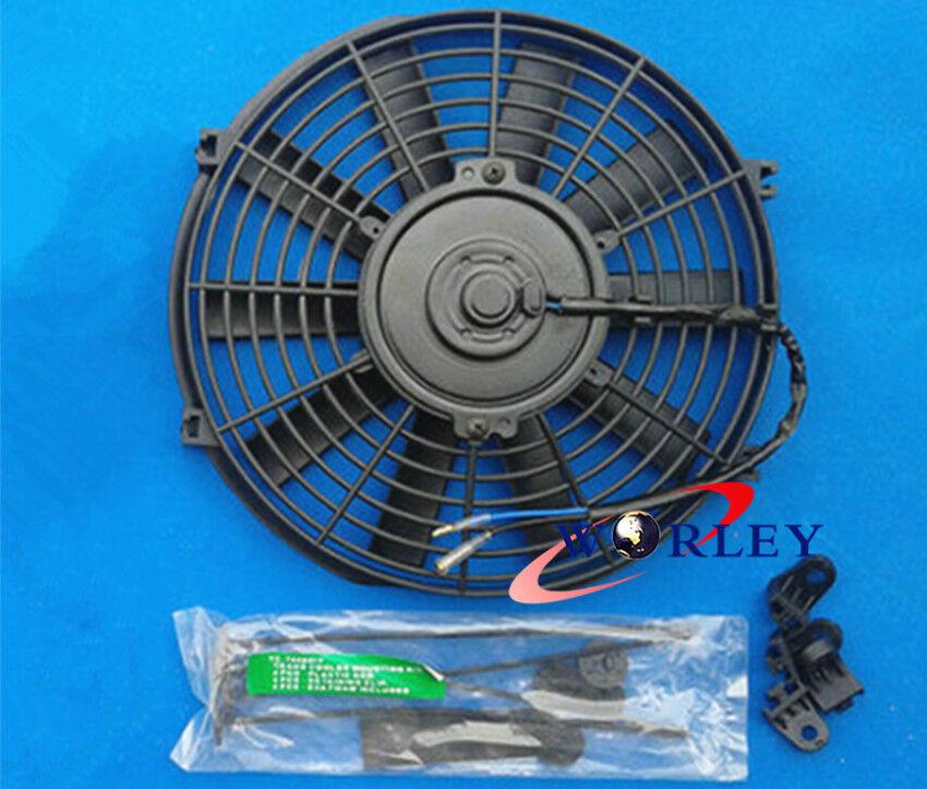 Slim 12 Quot Inch 12v Pull Push Electric Radiator Engine Bay
