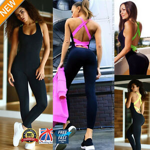 uk femme salle de sport yoga fitness course leggings combinaison athl tique ebay. Black Bedroom Furniture Sets. Home Design Ideas