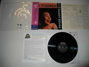 Ella-Fitzgerald-at-Opera-House-Mint-039-85-Japan-ARCHIVE-MASTER-Ultrasonic-CLEAN
