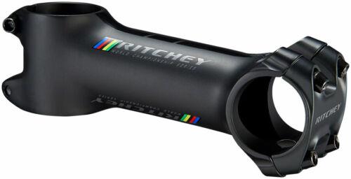 "1-1//4/"" Aluminum 31.8mm Ritchey WCS C220 Stem -6 Degree Matte Black 80mm"