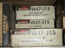 New Sunnen Stone Set W47 J 15 For Portable Hones 41 60 Silicon Carbide