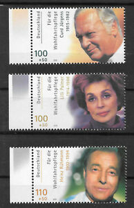 Briefmarken Deutschland BRD Jahr 2000 Schauspieler - Hannover, Deutschland - Briefmarken Deutschland BRD Jahr 2000 Schauspieler - Hannover, Deutschland