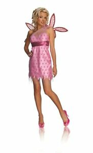 Secret-Wishes-Women-039-s-Pink-Playboy-Fairy-Adult-Costume-w-Wings