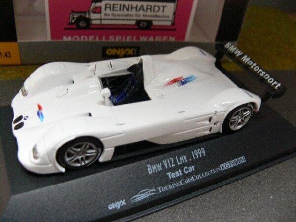 1 1 1 43 Onyx bmw v12 lmr test car 1999 xgt99004 b343e9