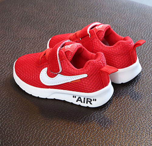 HOT KIDS SPORT RUNNING SHOCK ABSORBING BOYS GIRLS BABY INFANTS TRAINERS SHOES UK