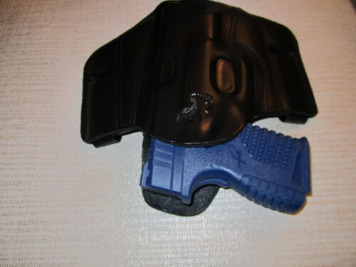 RIGHT HAND formed pancake belt holster XDS 3.3 REVERSIBLE IWB OR OWB