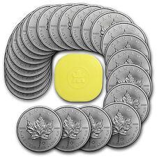 2017 Canada 1 oz Silver Maple Leaf BU (Lot of 25) - eBay - SKU #117256