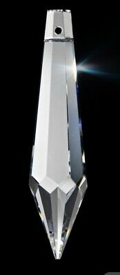 1 Individual~ 38mm Icicle Chandelier Crystal Prisms ~ 38mm Asfour Crystal Icicle ACD401
