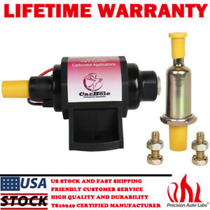 2-3.5PSI 12V Universal Micro Electric Fuel Pump 28GPH For Use With Gasoline Only