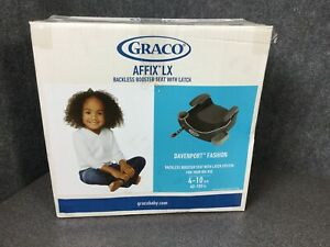 Graco-Affix-Backless-Youth-Booster-Car-Seat-With-Latch-System-40-to-100-M60E