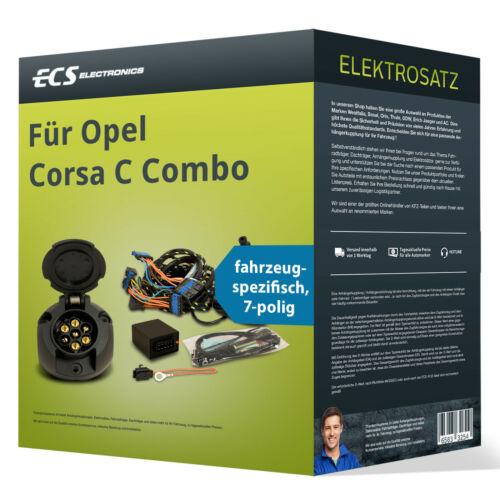 spezifisch NEU ECS Electronics Opel Corsa C Combo Elektrosatz 7-pol
