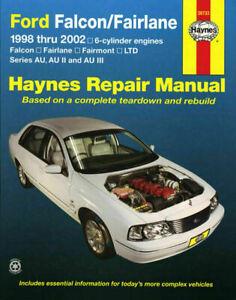 Ford-Falcon-AU-Series-1998-2002-inc-Fairlane-amp-LTD-6cyl-Haynes-Repair-Manual