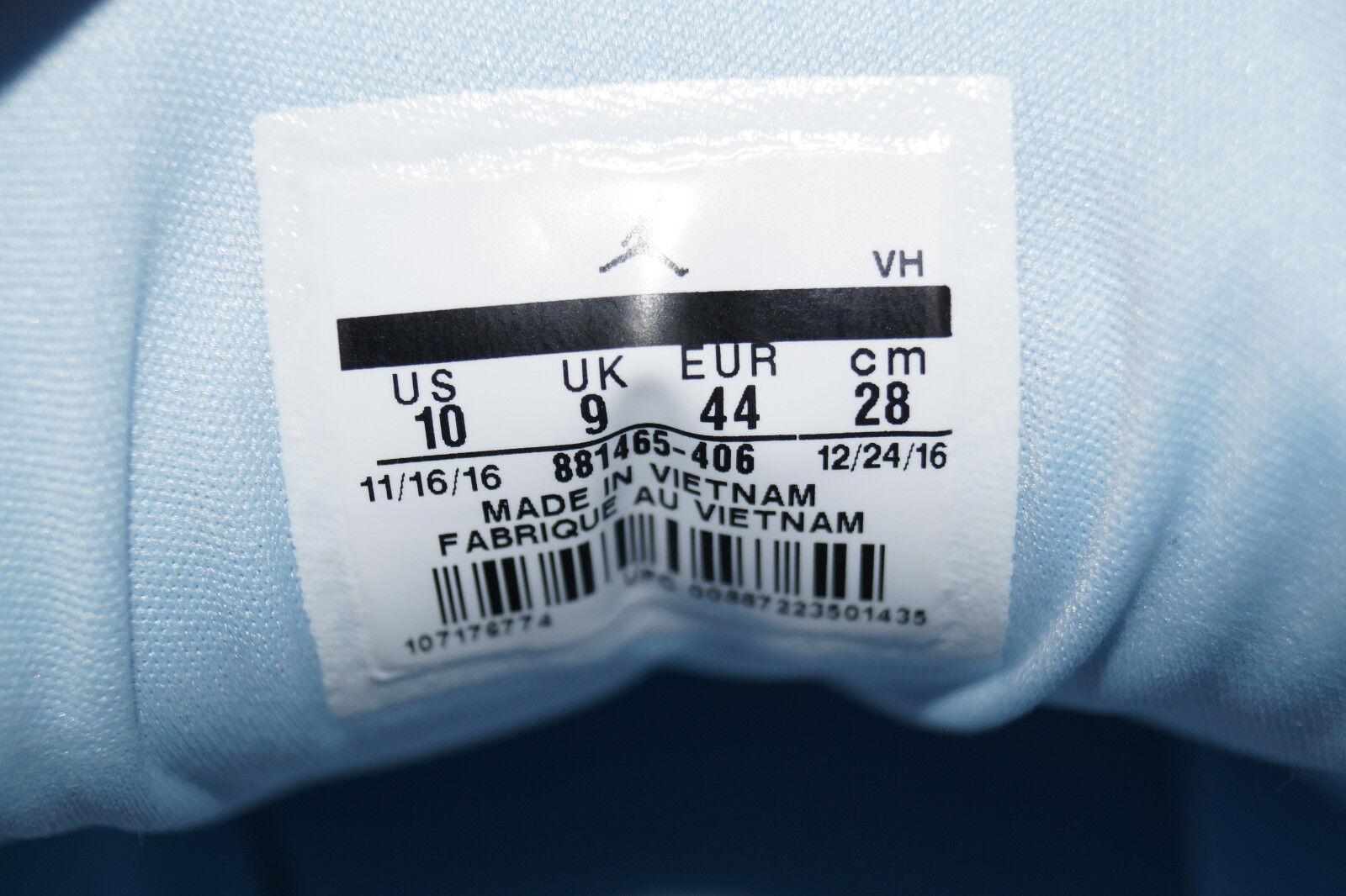 Nike Jordan Formula 23 Gr.44 UK.9 406 ice Blau blau 881465 406 UK.9 Sneaker Trainer e8c991