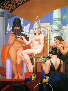 Art-Deco-Ceramic-Mural-Cleopatre-Nude-Bath-Tile-45